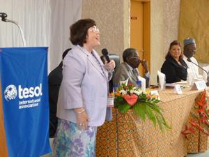 TESOL President Deena Boraie